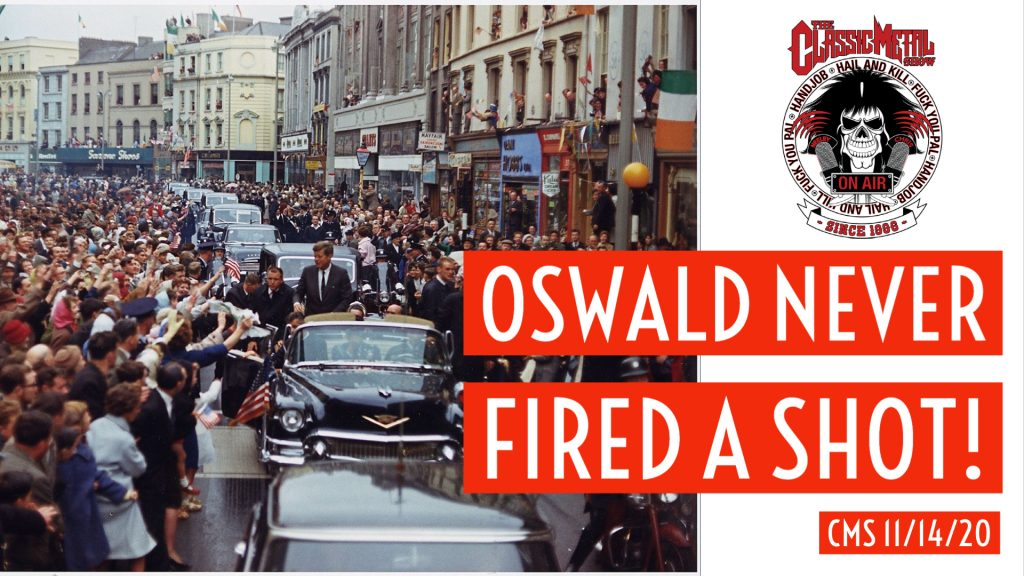 Oswald Never Fired A Shot