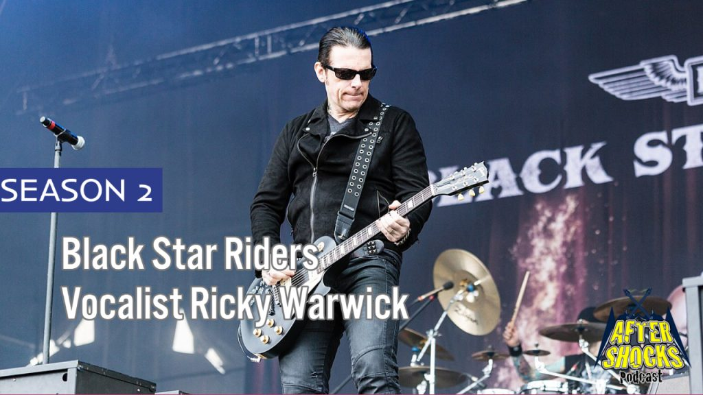 Interview with Thin Lizzy/Black Star Riders Vocalist Ricky Warwick