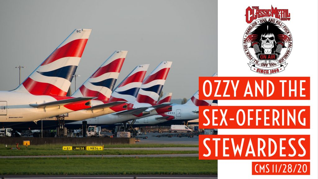 Ozzy and The Sex-Offering Stewardess