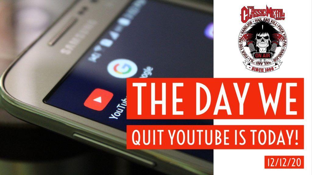 The Day We Quit YouTube Is Today