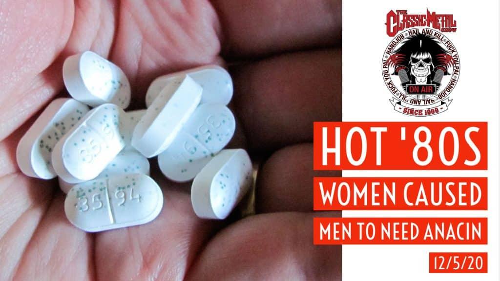 Hot 80s Women Caused Men To Need Anacin