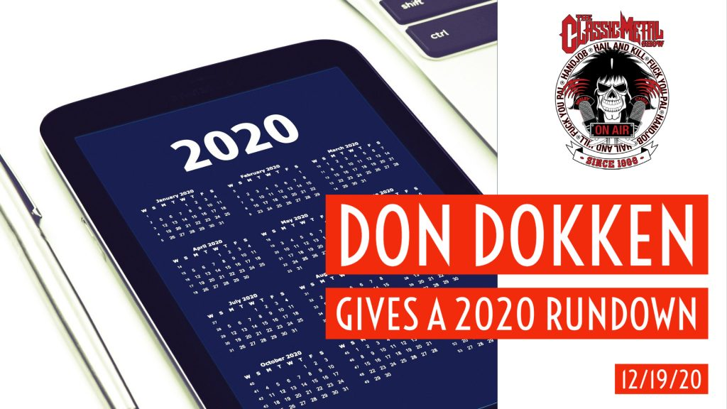CMS | Don Dokken Gives A 2020 Rundown
