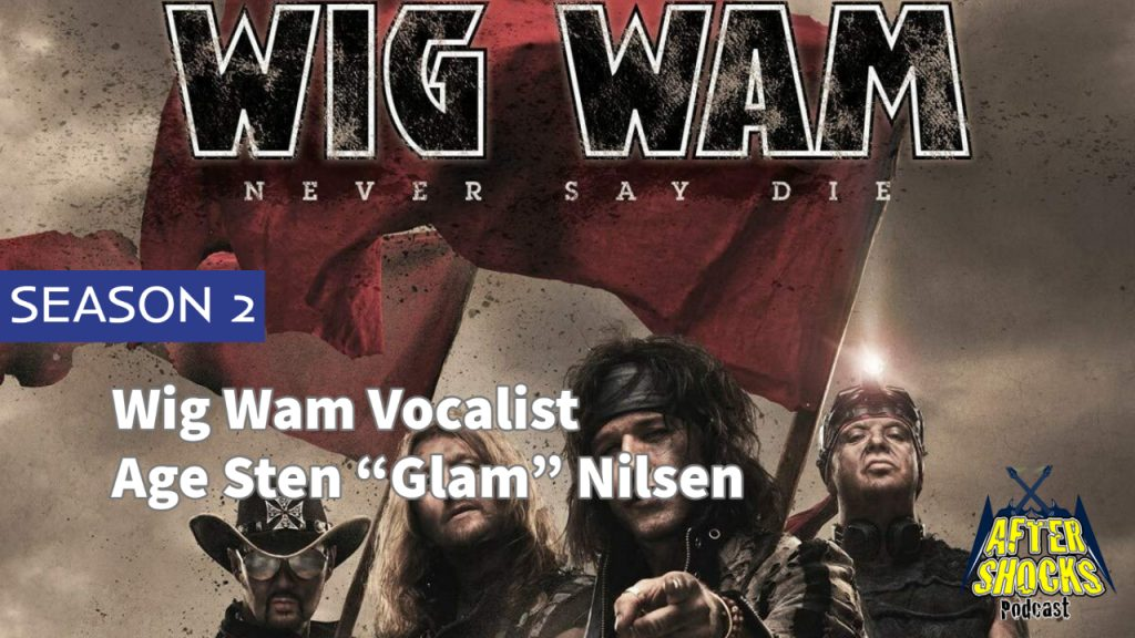 "Aftershocks TV | Wig Wam Vocalist Age Sten ""Glam"" Nilsen"