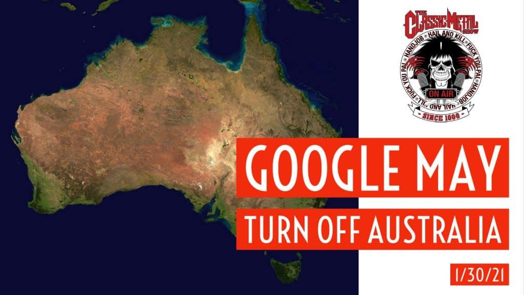 CMS | Google May Turn Off Australia
