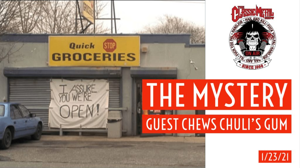CMS | Our Mystery Guest Chews Chuli's Gum