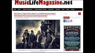 Ron Keel Band | Fight Like A Band (Music Video)