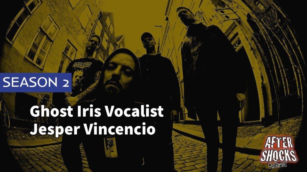 AFTERSHOCKS TV | Ghost Iris Vocalist Jesper Vincencio