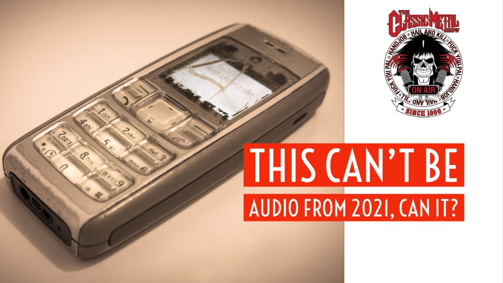 CMS | This Can't Be Audio From 2021, Can It?