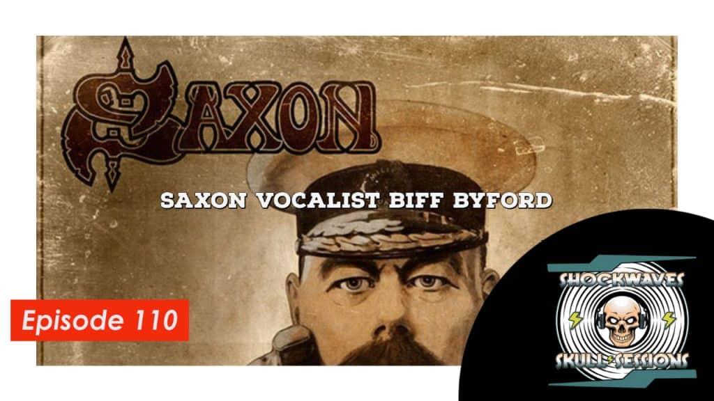 SS | Episode #110 – Saxon Vocalist Biff Byford private video