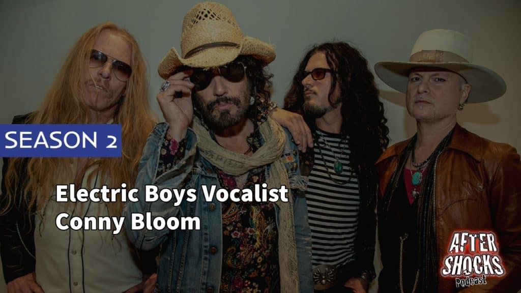 AFTERSHOCKS TV | Electric Boys Vocalist Conny Bloom