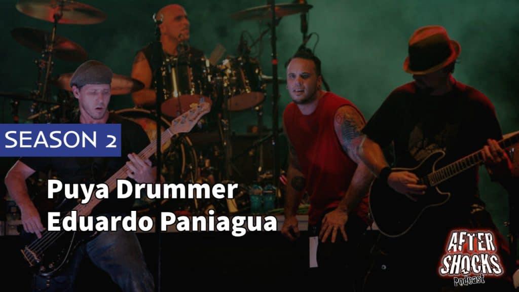 Aftershocks TV | Puya Drummer Eduardo Paniagua