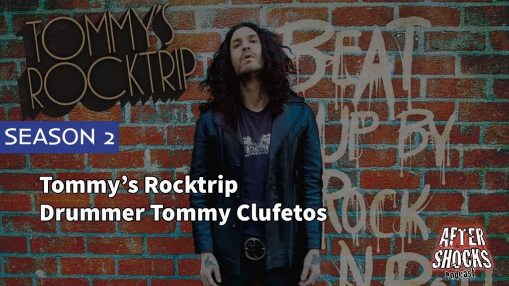 AFTERSHOCKS TV | Tommy's Rocktrip Drummer Tommy Clufetos