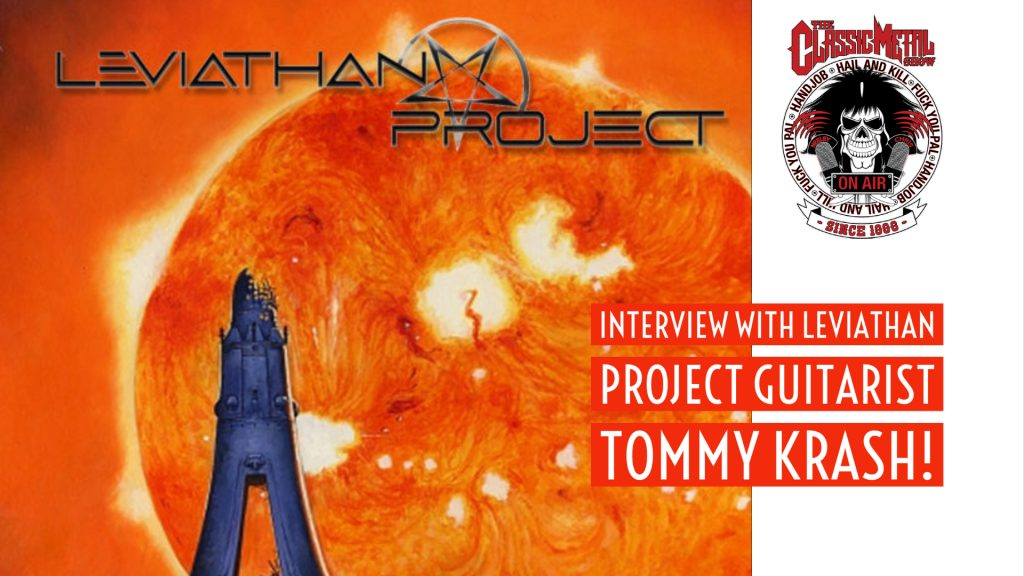 CMS | Interview With Leviathan Project Guitarist Tommy Krash