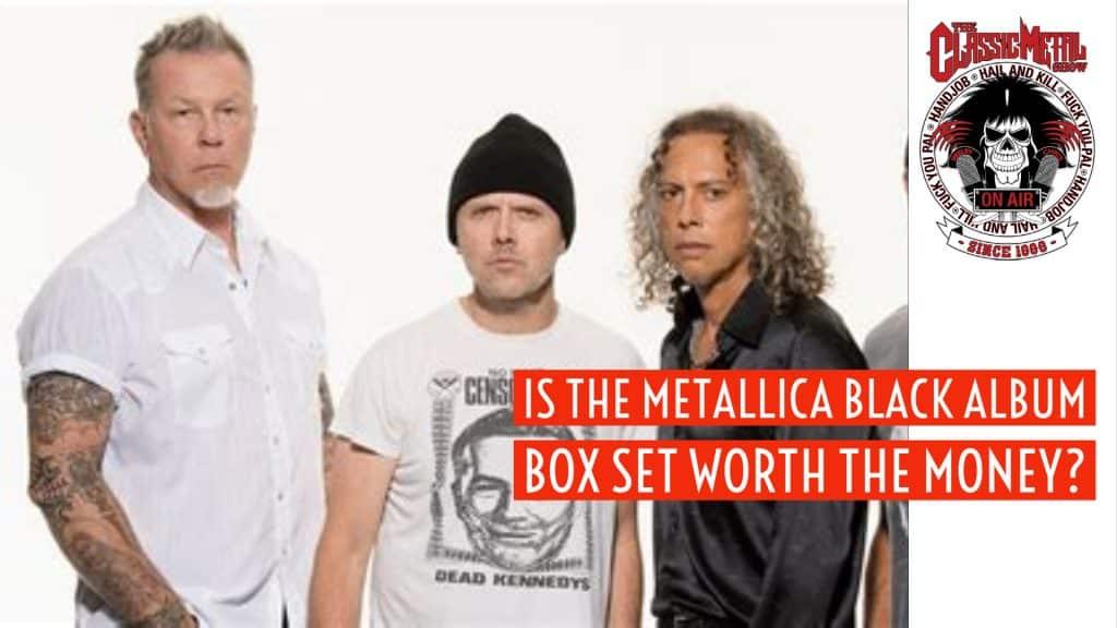CMS   Is The Metallica Black Album Box Set Worth The Money?