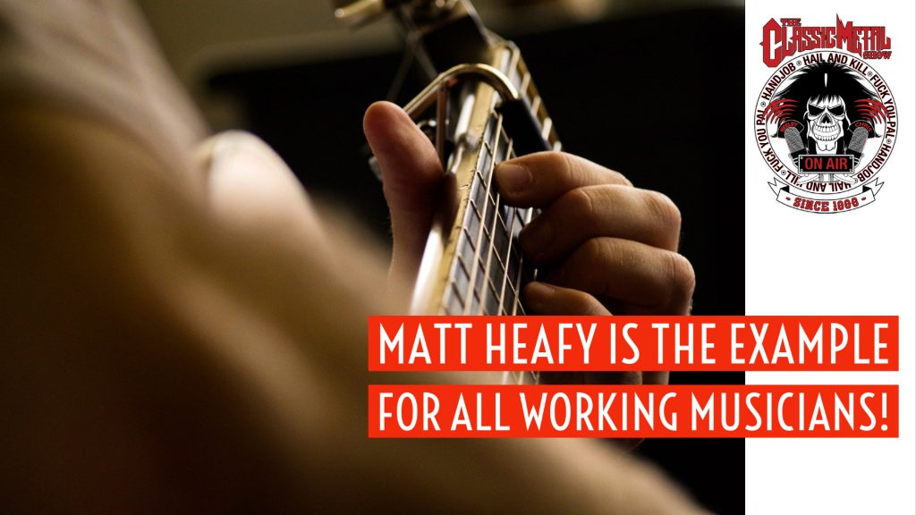 CMS   Matt Heafy Is The Example For All Working Musicians