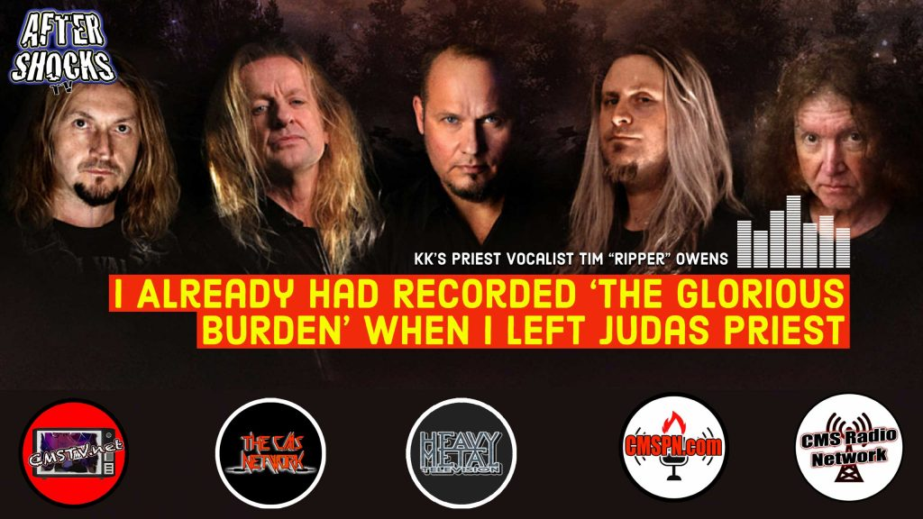 AS | I Already Had Recorded 'THE GLORIOUS BURDEN' When I Left Judas Priest