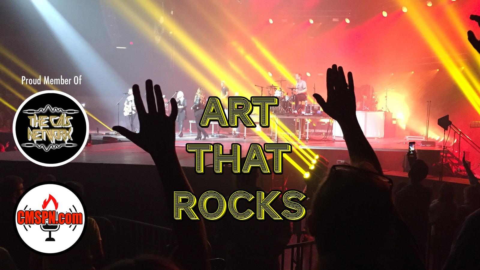 Art That Rocks with Monty Colvin