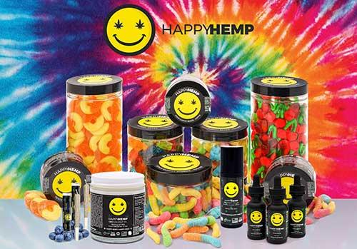Happy Hemp CBD Products