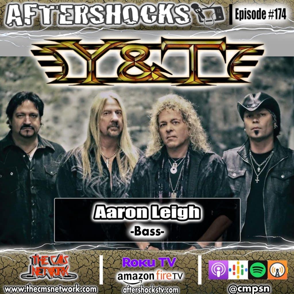 AS | Y&T Bassist Aaron Leigh