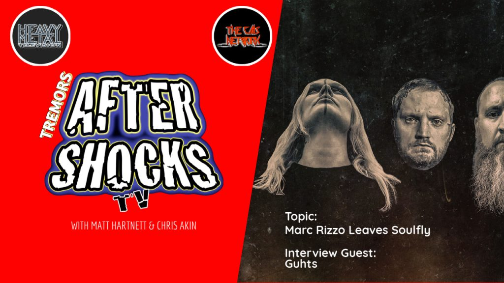 AS   Tremors: Soulfly/Rizzo Saga and Guhts Interview
