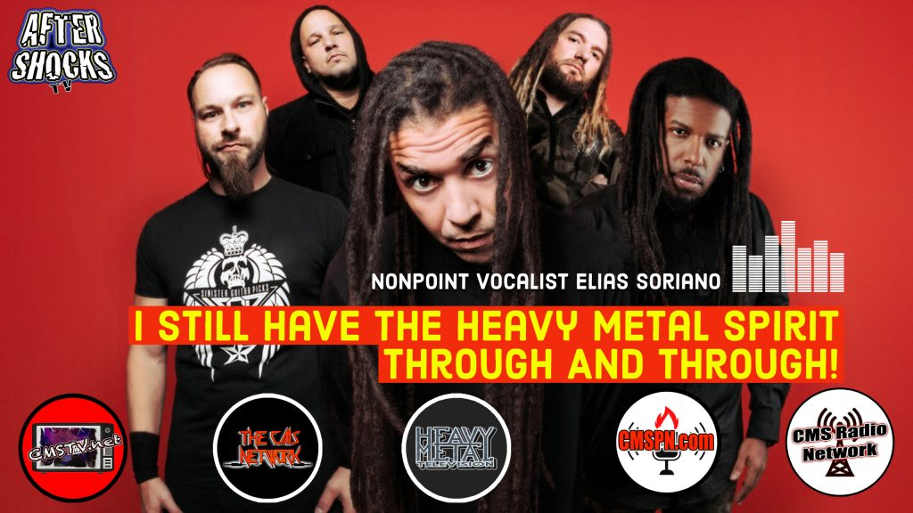 AS | Nonpoint Vocalist Elias Soriano Talks Touring And Launching New Label