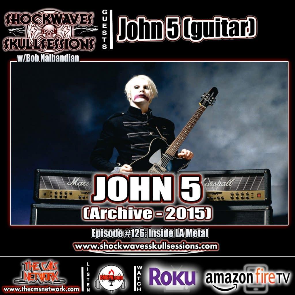 SS | Guitarist John 5 (Archive-2015)