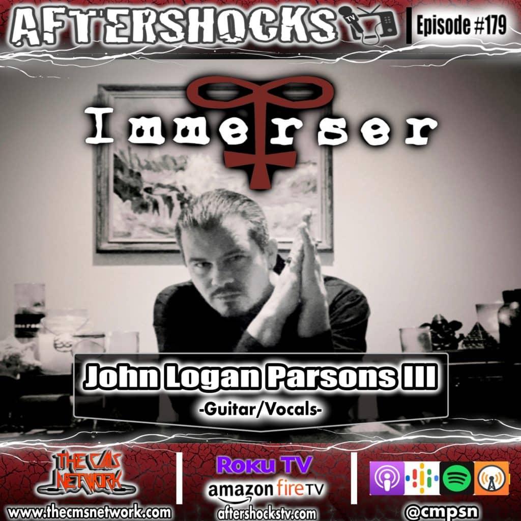 AS | IMMERSER guitarist/vocalist John Logan Parsons III