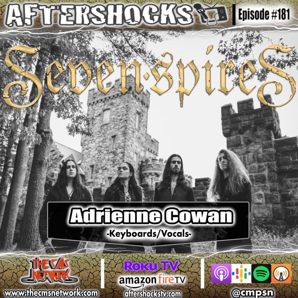 AS | Seven Spires Vocalist Adrienne Cowan