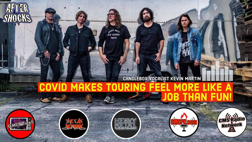 AS | Candlebox Vocalist Kevin Martin