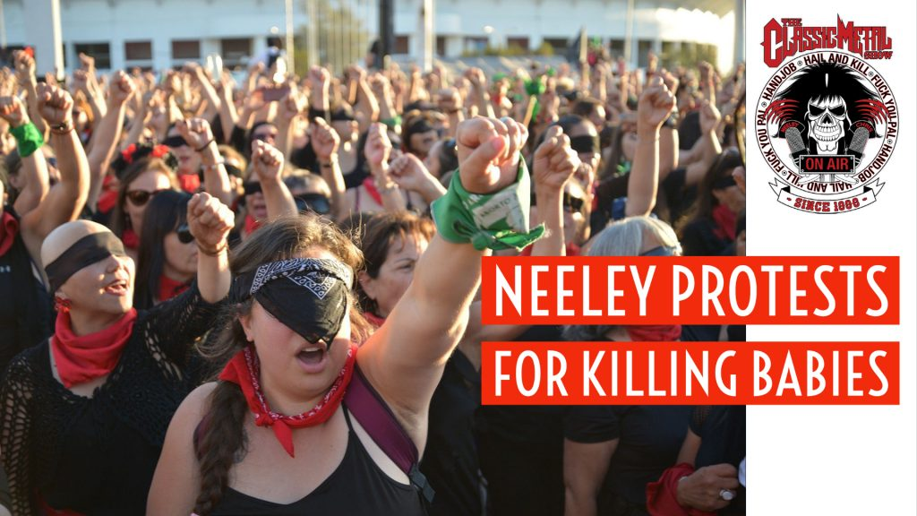 CMS | Neeley Protests For Killing Babies
